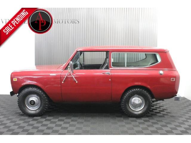 1980 International Scout (CC-1532121) for sale in Statesville, North Carolina