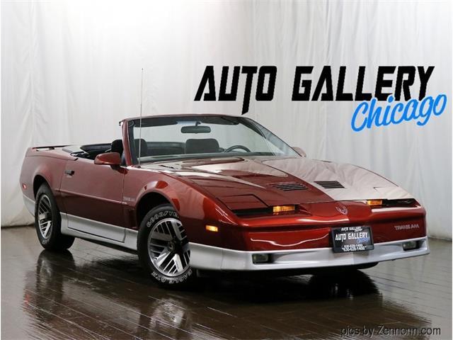 1987 Pontiac Firebird (CC-1532151) for sale in Addison, Illinois