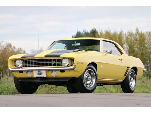 1969 Chevrolet Camaro (CC-1532188) for sale in Stratford, Wisconsin
