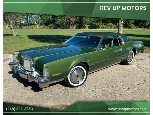 1974 Lincoln Continental (CC-1532206) for sale in Shelby Township, Michigan