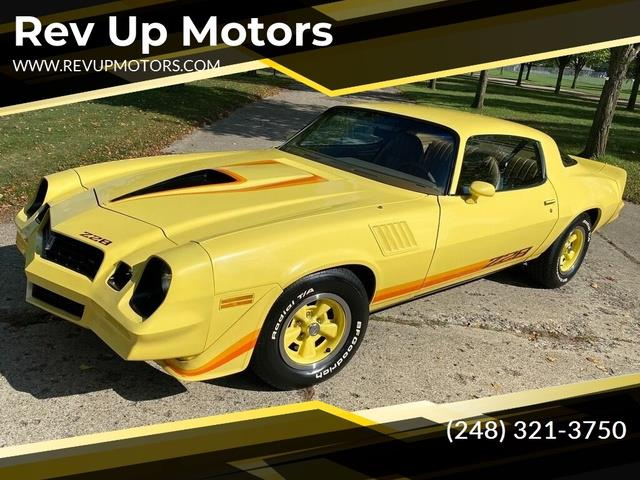1979 Chevrolet Camaro (CC-1532213) for sale in Shelby Township, Michigan