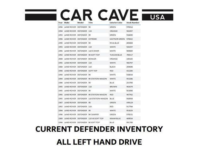 1994 Land Rover Defender (CC-1532219) for sale in Aiken, South Carolina