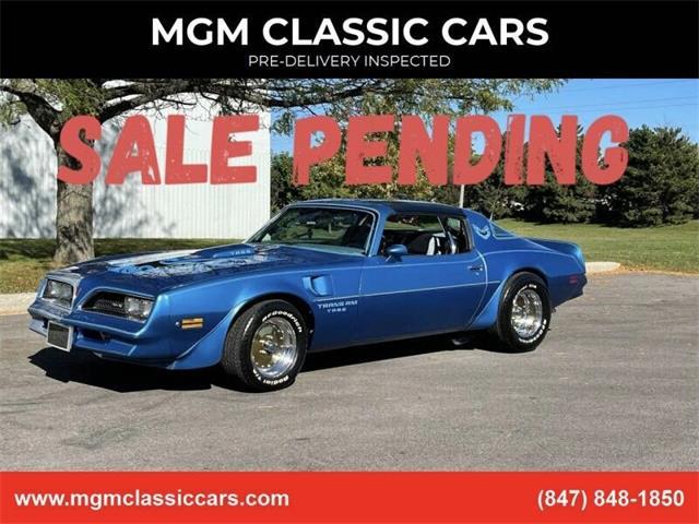 1978 Pontiac Firebird Trans Am (CC-1532376) for sale in Addison, Illinois
