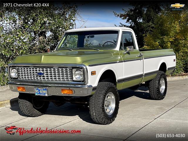1971 Chevrolet K-20 (CC-1532443) for sale in Gladstone, Oregon