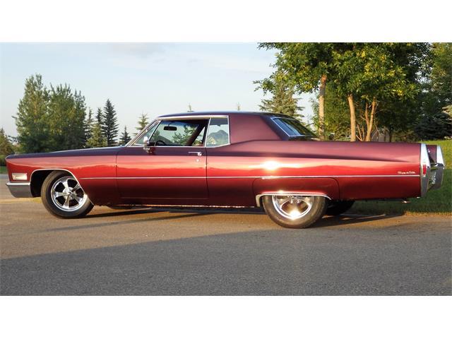 1968 Cadillac 2-Dr Coupe (CC-1532515) for sale in Saskatoon, Saskatchewan