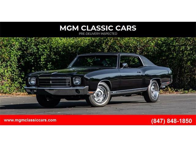 1970 Chevrolet Monte Carlo (CC-1532560) for sale in Addison, Illinois