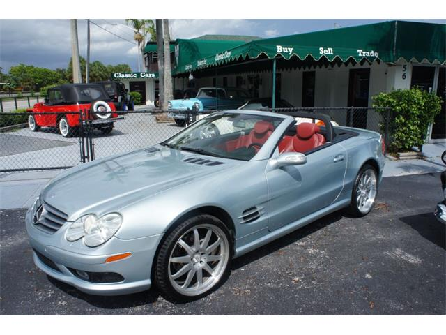 2004 Mercedes-Benz SL-Class (CC-1532614) for sale in Lantana, Florida