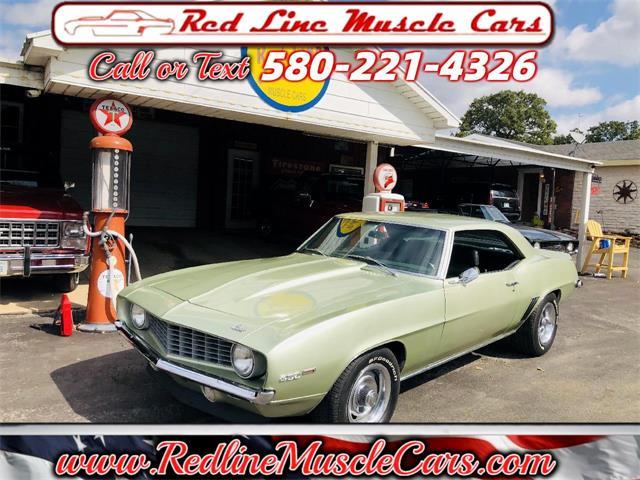 1969 Chevrolet Camaro (CC-1532618) for sale in Wilson, Oklahoma