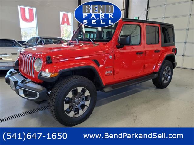 2018 Jeep Wrangler (CC-1532620) for sale in Bend, Oregon