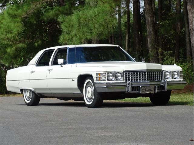1974 Cadillac Fleetwood (CC-1532741) for sale in Youngville, North Carolina