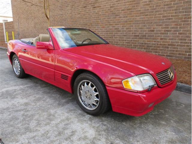 1995 Mercedes-Benz SL500 (CC-1532800) for sale in Youngville, North Carolina