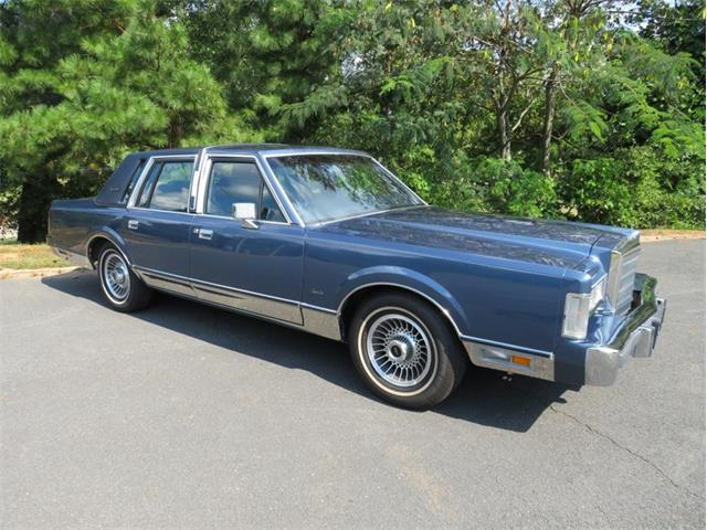 1988 Lincoln Town Car (CC-1532826) for sale in Youngville, North Carolina