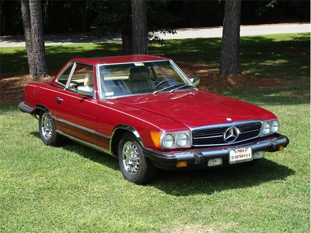 1985 Mercedes-Benz 380SL (CC-1532828) for sale in Youngville, North Carolina