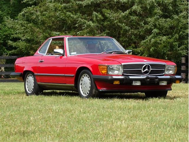 1987 Mercedes-Benz 560SL (CC-1532844) for sale in Youngville, North Carolina