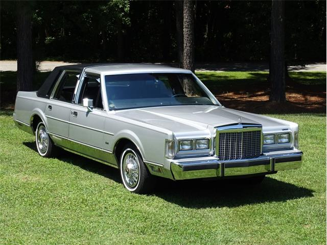 1986 Lincoln Town Car (CC-1532868) for sale in Youngville, North Carolina
