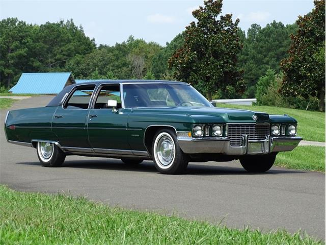 1972 Cadillac Fleetwood (CC-1532878) for sale in Youngville, North Carolina