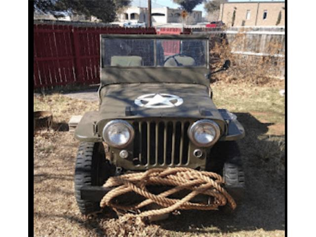 1944 Willys CJ2 (CC-1532930) for sale in Midlothian, Texas