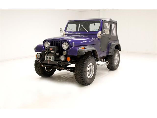 1981 Jeep CJ5 (CC-1532953) for sale in Morgantown, Pennsylvania