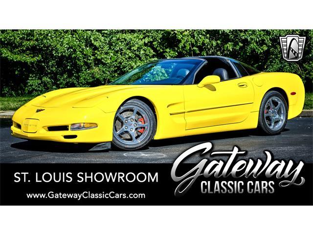 2002 Chevrolet Corvette (CC-1530296) for sale in O'Fallon, Illinois