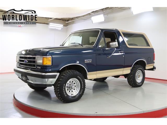 1990 Ford Bronco (CC-1532968) for sale in Denver , Colorado