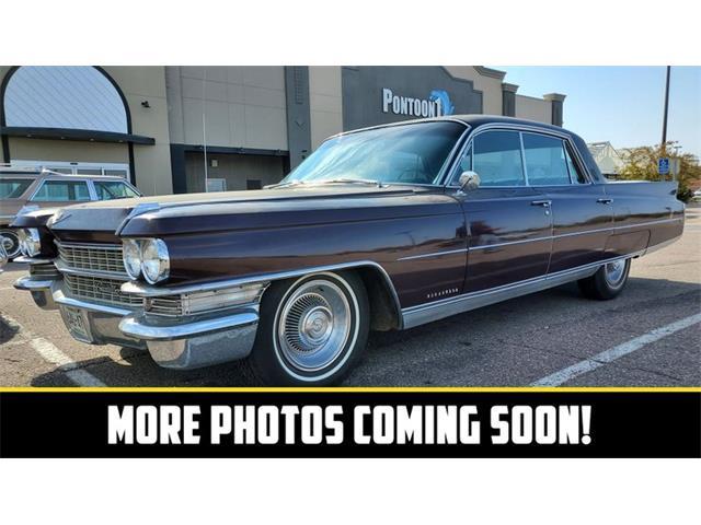 1963 Cadillac Fleetwood (CC-1532988) for sale in Mankato, Minnesota