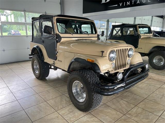 1980 Jeep CJ5 (CC-1533068) for sale in St. Charles, Illinois
