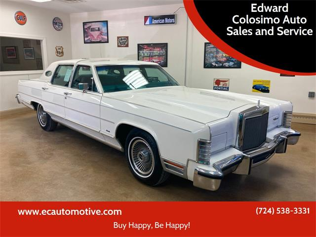 1979 Lincoln Town Car (CC-1533099) for sale in Evans City, Pennsylvania