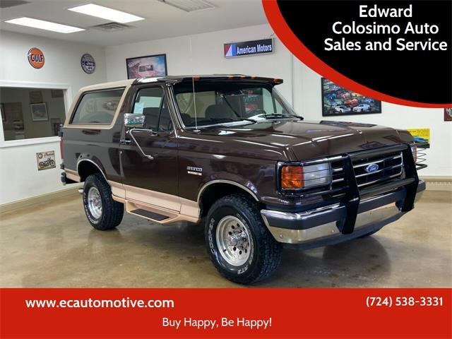 1991 Ford Bronco (CC-1533101) for sale in Evans City, Pennsylvania