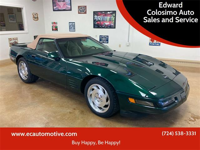 1994 Chevrolet Corvette (CC-1533102) for sale in Evans City, Pennsylvania