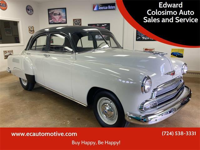 1951 Chevrolet Styleline (CC-1533104) for sale in Evans City, Pennsylvania