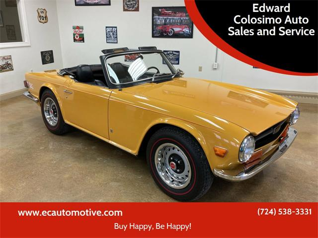 1972 Triumph TR6 (CC-1533112) for sale in Evans City, Pennsylvania