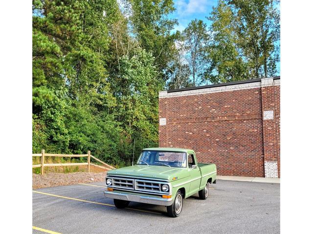 1971 Ford F100 (CC-1533169) for sale in Cumming , Georgia