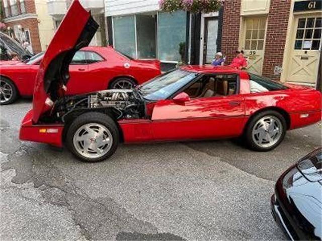 1988 Chevrolet Corvette (CC-1533249) for sale in Cadillac, Michigan