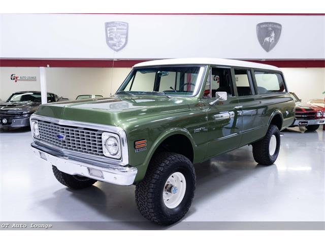 1972 Chevrolet Suburban (CC-1530327) for sale in Rancho Cordova, CA, California