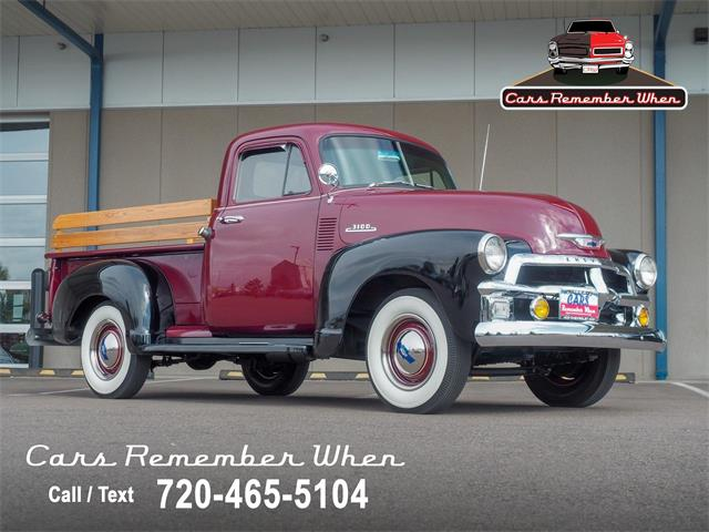 1954 Chevrolet 3100 (CC-1533354) for sale in Englewood, Colorado