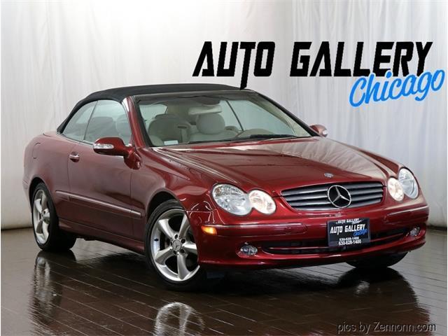 2005 Mercedes-Benz CLK320 (CC-1533357) for sale in Addison, Illinois