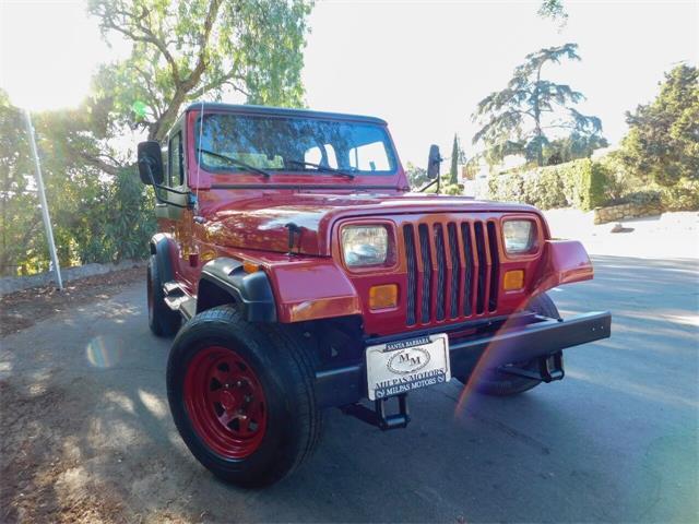 1987 Jeep Wrangler (CC-1533394) for sale in Santa Barbara, California