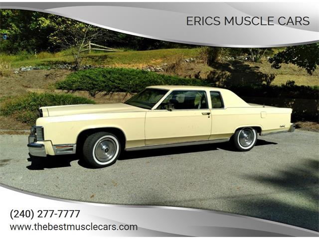 1979 Lincoln Continental (CC-1533406) for sale in Clarksburg, Maryland