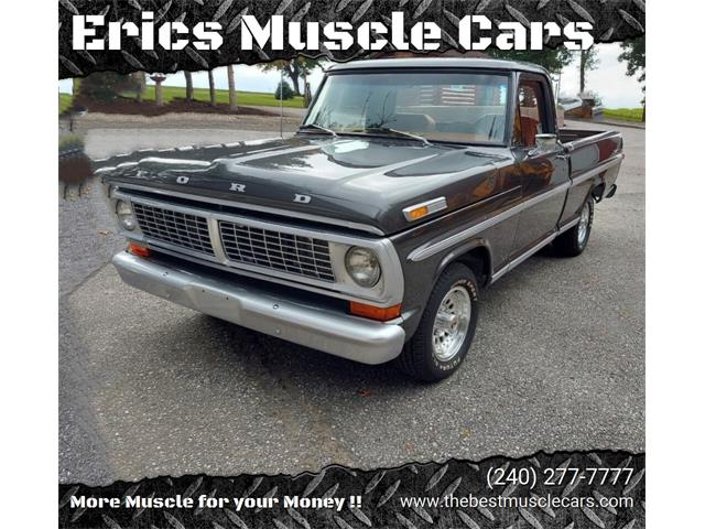 1972 Ford F100 (CC-1533408) for sale in Clarksburg, Maryland