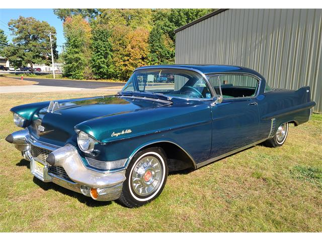1957 Cadillac DeVille (CC-1533500) for sale in hopedale, Massachusetts
