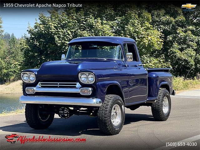 1959 Chevrolet Apache (CC-1533693) for sale in Gladstone, Oregon