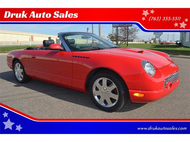 2002 Ford Thunderbird (CC-1533706) for sale in Ramsey, Minnesota