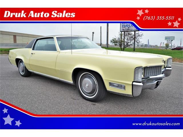 1969 Cadillac Eldorado (CC-1533708) for sale in Ramsey, Minnesota