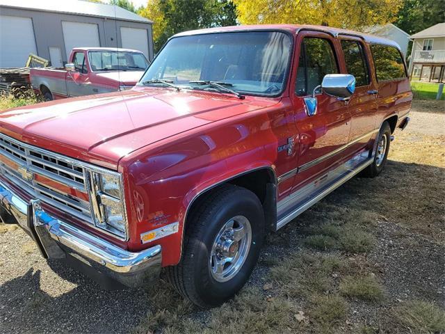 1988 Chevrolet Suburban (CC-1533731) for sale in Spirit Lake, Iowa
