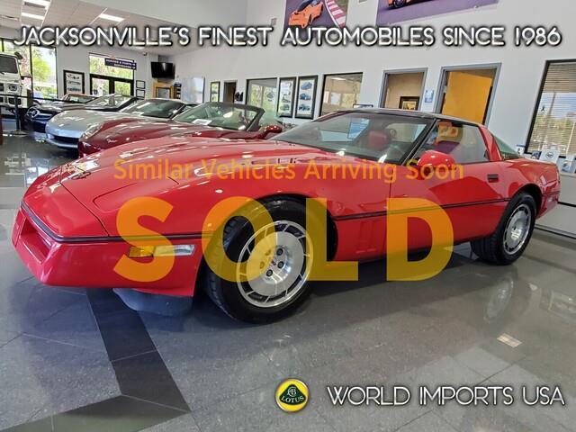 1986 Chevrolet Corvette (CC-1533847) for sale in Jacksonville, Florida