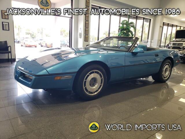 1987 Chevrolet Corvette (CC-1533866) for sale in Jacksonville, Florida