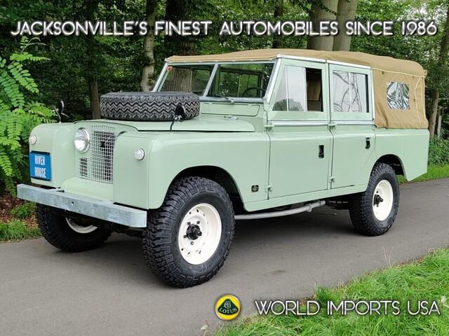 1972 Land Rover Series II (CC-1533885) for sale in Jacksonville, Florida