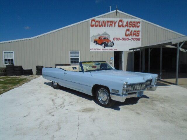 1967 Cadillac DeVille (CC-1530390) for sale in Staunton, Illinois