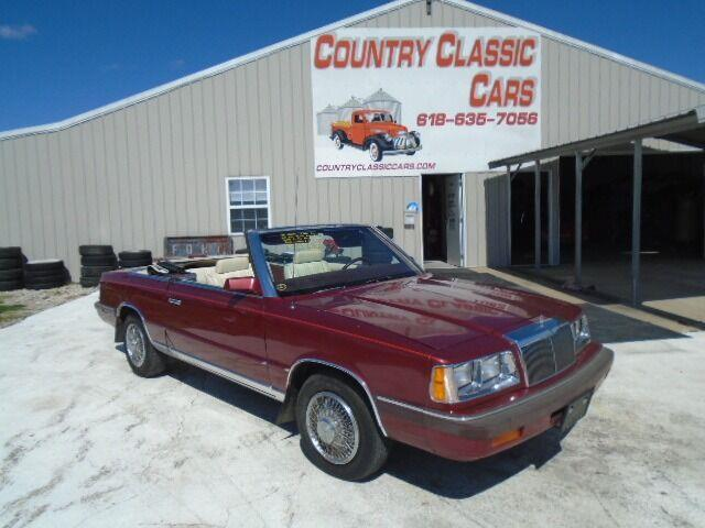 1986 Chrysler LeBaron (CC-1530391) for sale in Staunton, Illinois