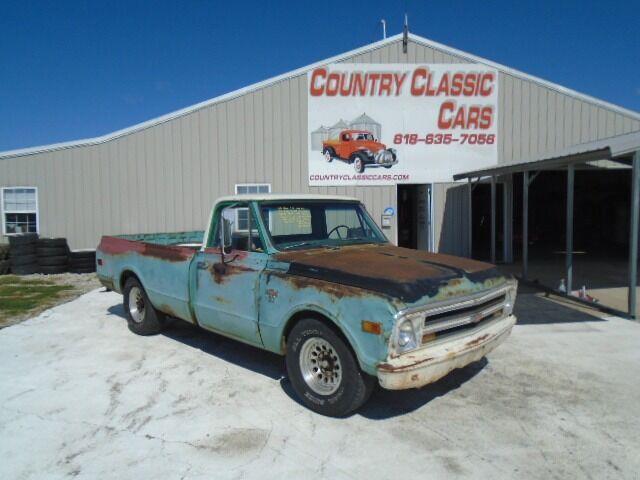 1968 Chevrolet C20 (CC-1530393) for sale in Staunton, Illinois
